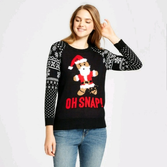 bf4fae384d2 Oh Snap! Holiday Sweater